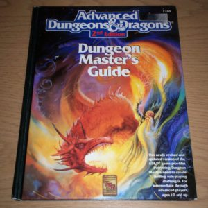 Advanced Dungeons and Dragons book image