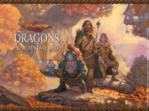 Questing party from Dragonlance