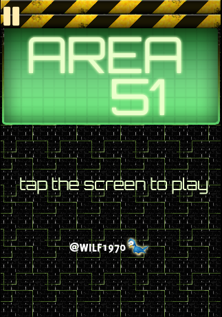 area51 title screen
