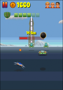 Distant Orbit in-game action