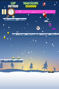 Rocket Santa HTML5 Christmas Game